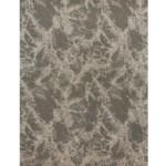 6 Venato Gray Ivory Woven Round Polypropylene Area Rug Christmas Central