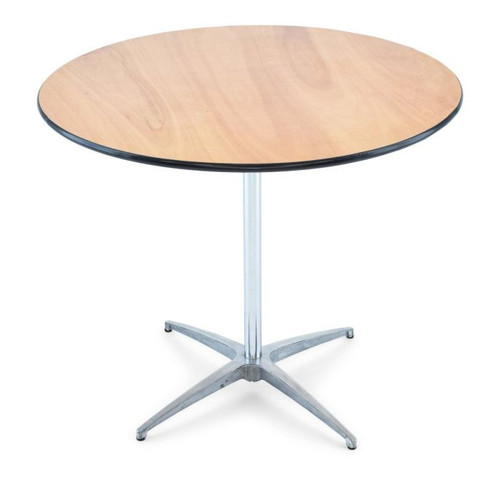 round 30 inch cocktail table
