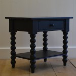 Petite Spindle Side Table English Farmhouse Furniture