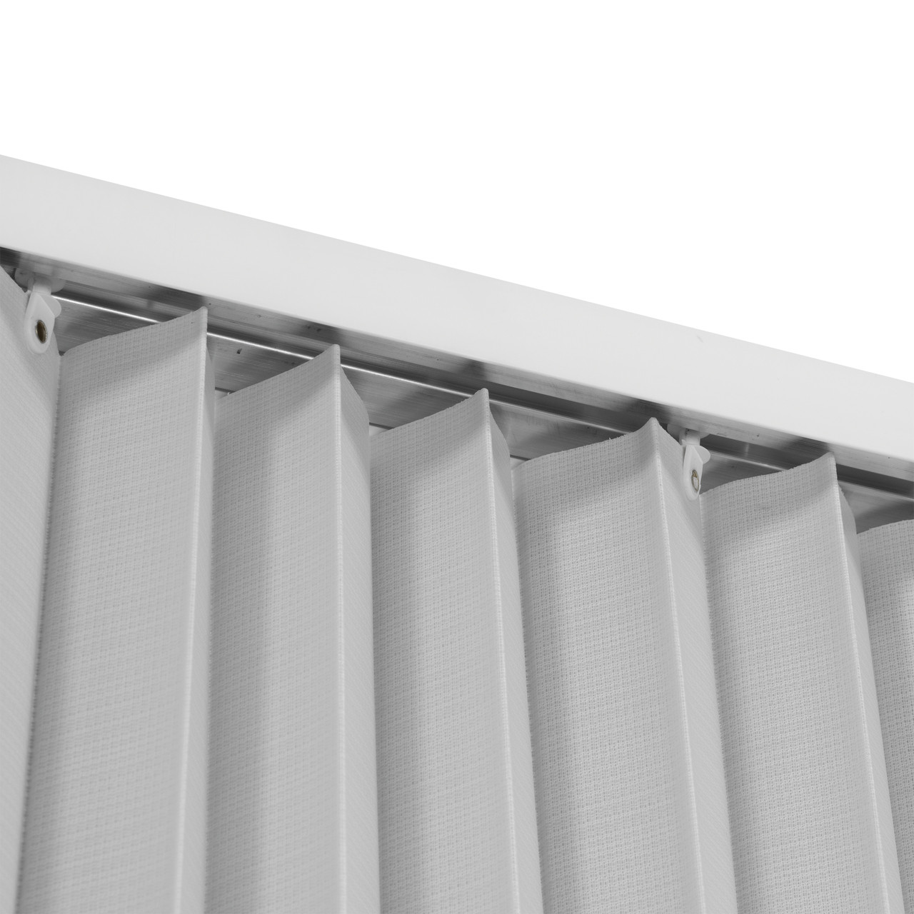 pleated folding rv shower doors white