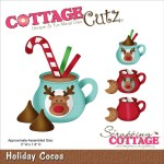 Cottagecutz Die Holiday Cocoa Scrapbooking Made Simple