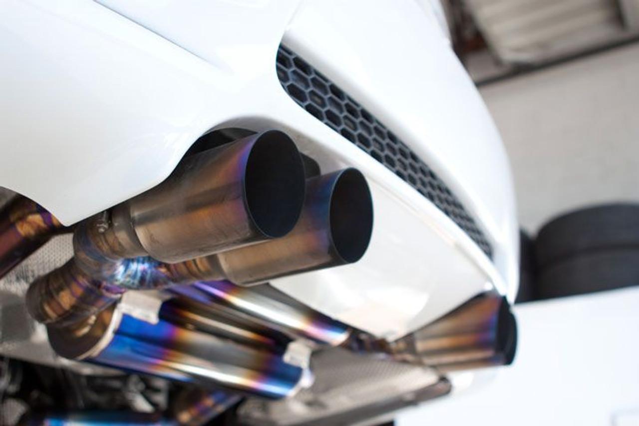 vanguard titanium cat back exhaust for 2007 12 bmw m3 e90 e92