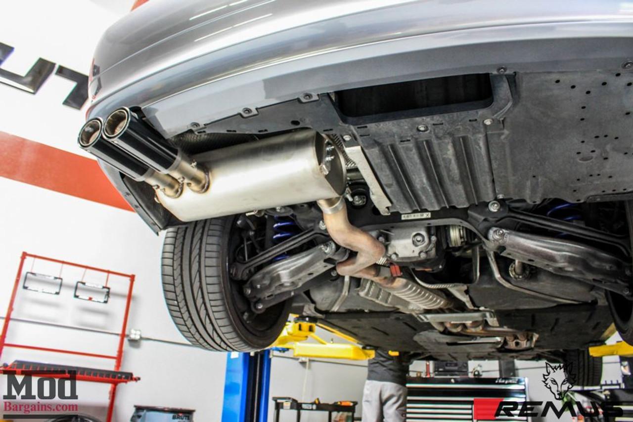 remus sport exhaust valved for 2005 2011 bmw 325i 328i 330i e90 e91 088205 099