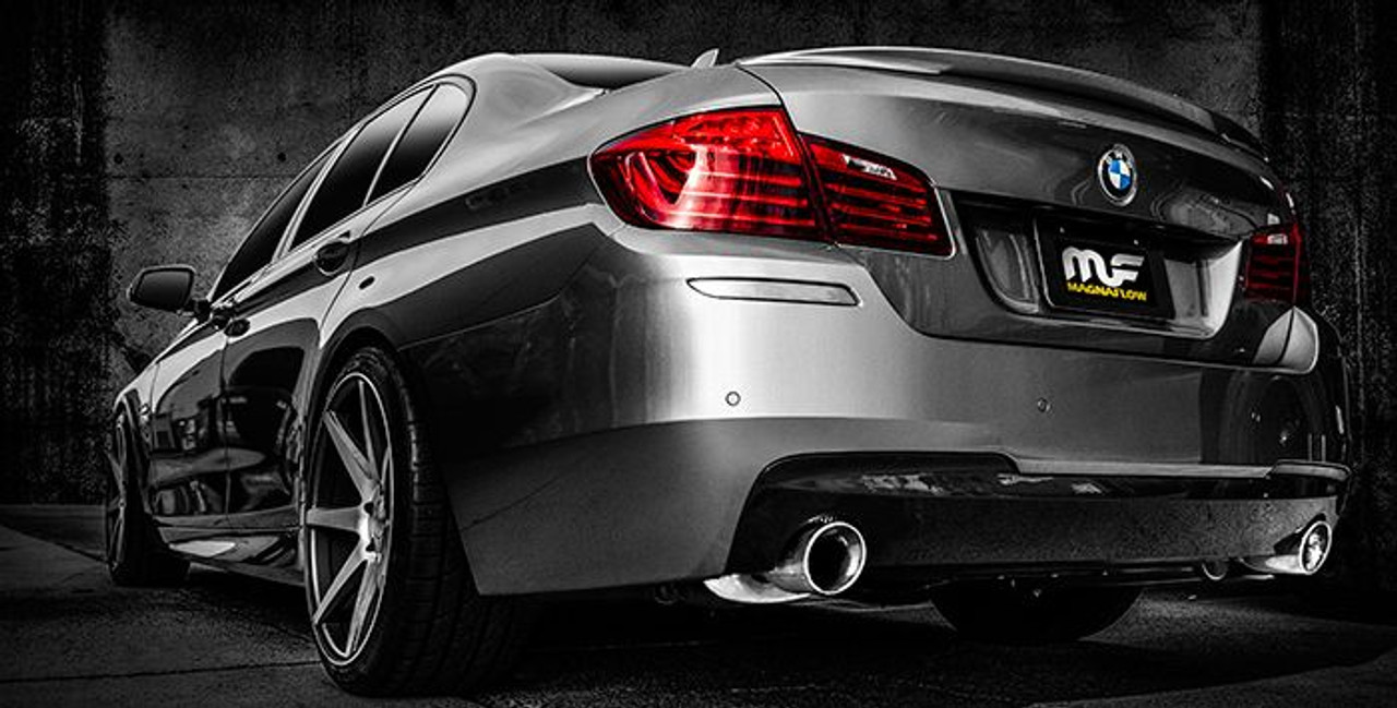 no longer available magnaflow cat back exhaust for 2013 15 bmw 535i f10 w dual 4in tips 15289