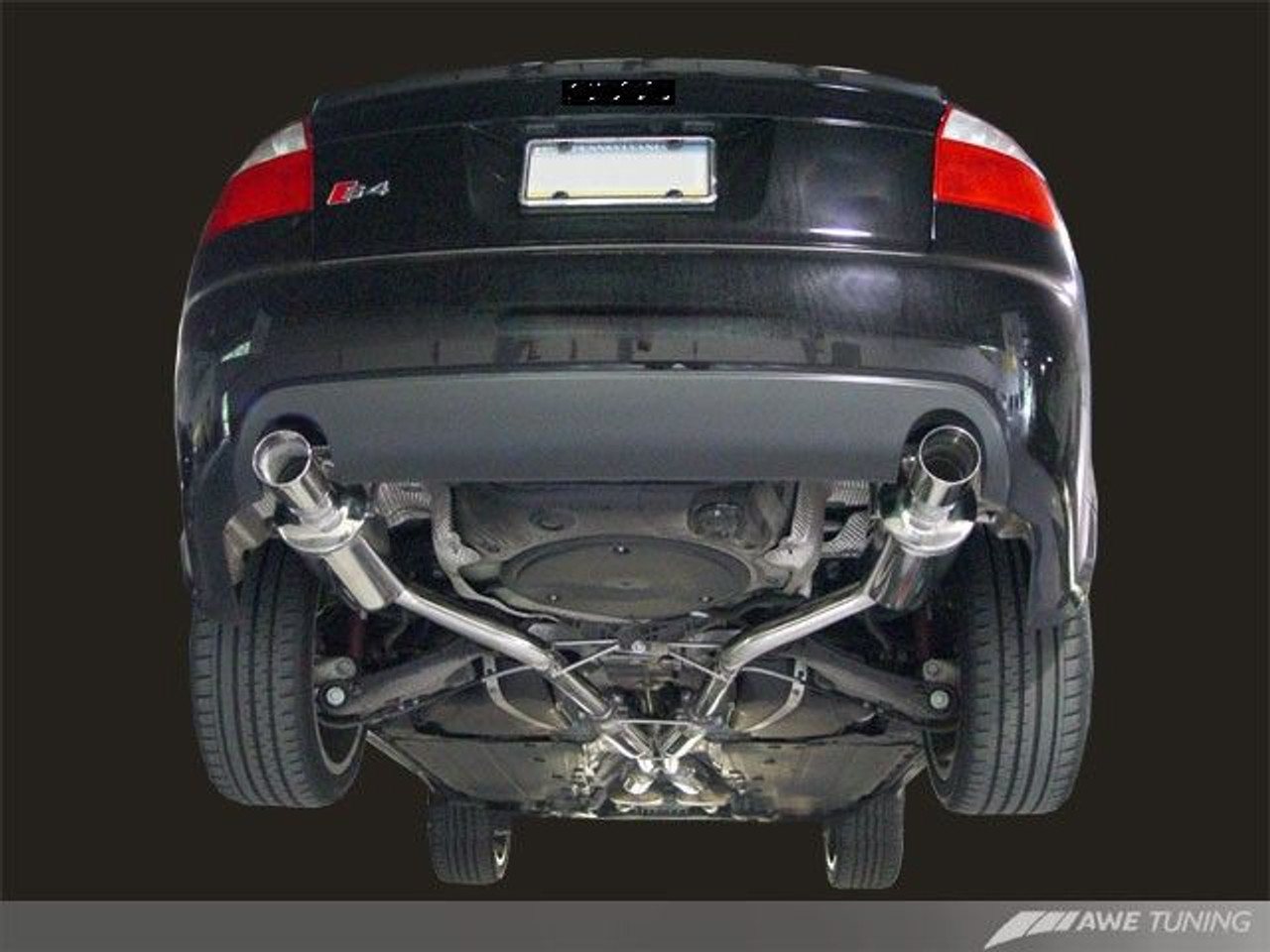 awe tuning cat back touring edition exhaust for 2003 05 audi s4 b6