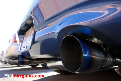 invidia gemini cat back exhaust for 2007 13 infiniti g37 nissan 370z z34