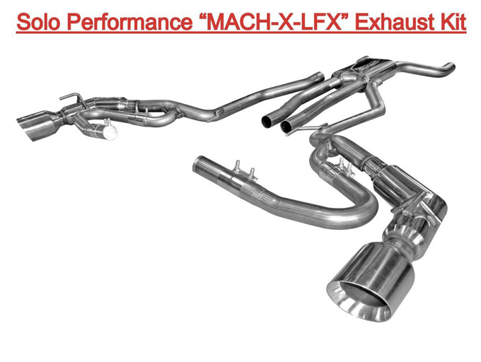 solo performance camaro v6 convertible mach x lfx cat back exhaust