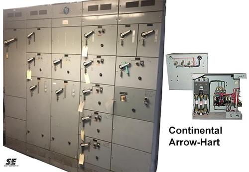 Continental/Arrow Hart Motor Control Centers & MCC Buckets