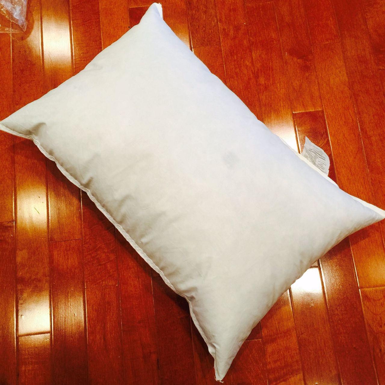 14 x 20 polyester non woven indoor outdoor pillow form