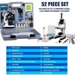 Microscope Kids Beginner Stem Kit Carrying Box White A Ally Sons