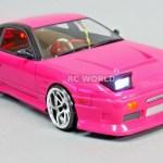 1 10 Rc Car Body Shell Nissan 180sx Drift Body W Light Bucket Clear Unpainted Rc World