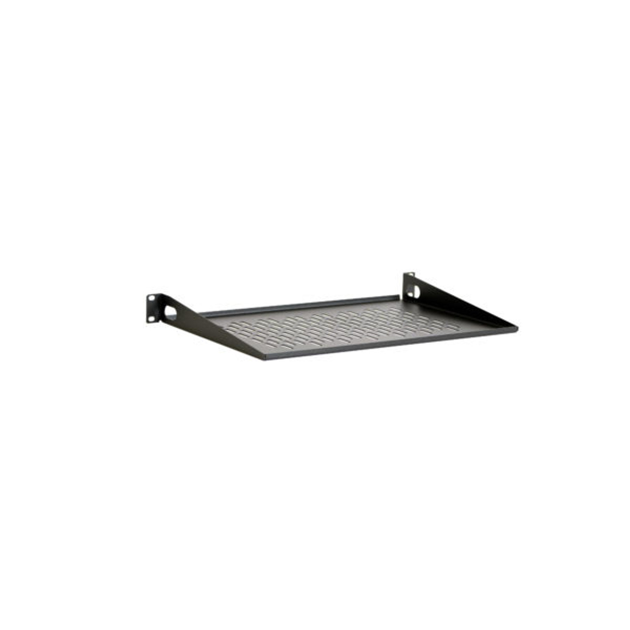 1u 12 vented light duty rack shelf