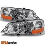 Fit 02 03 Acura Tl Hid Xenon Headlights Repalcement 2002 2003 L R Oemassive