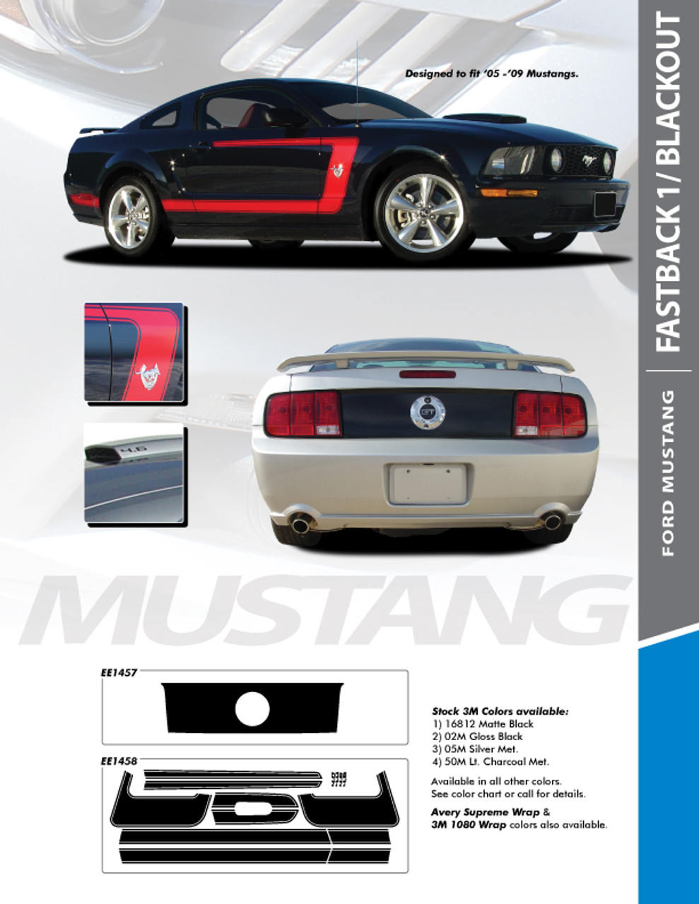 Descriptions and information concerning 1965 ford mustang gt premium convertible. Ford Mustang Boss Stripes Graphic Vinyl Decal Fastback One 2009 2008 2007 2006 2005