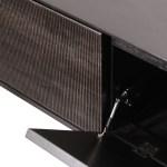 Teak Grooves Tv Cupboard Media Cabinet 64 Clutch Modern