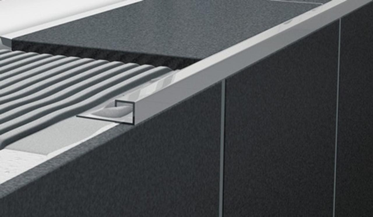 stainless steel square edge tile trim 2 5m