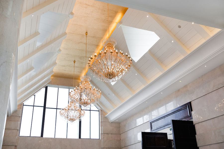 how to light a high ceiling lightup
