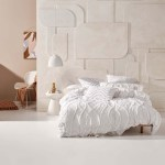 Amadora White Quilt Cover Set By Linen House Queen Bed My Linen