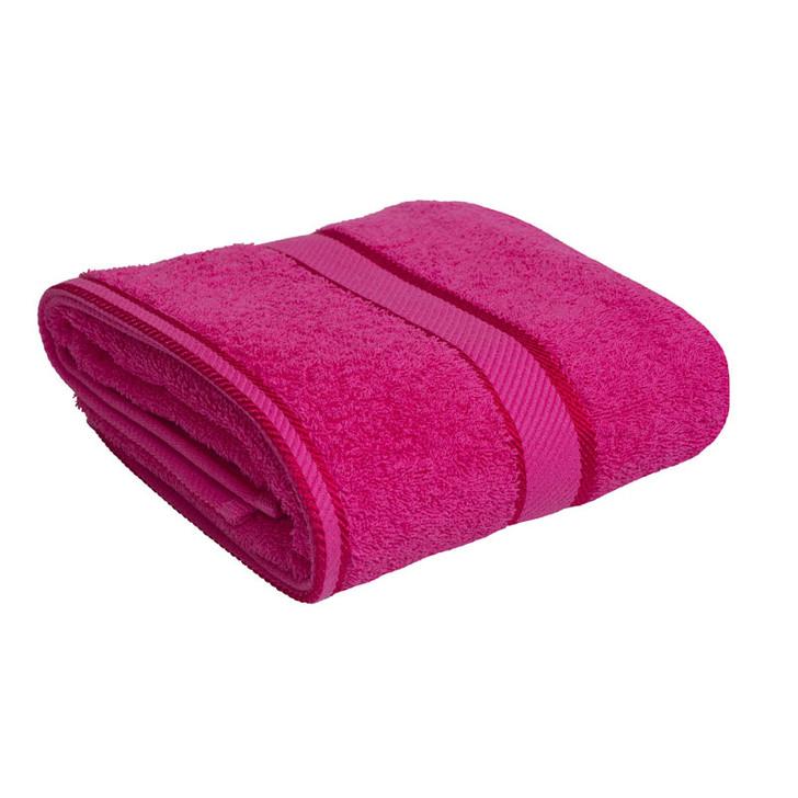 100 cotton fuchsia hot pink towels bath towel