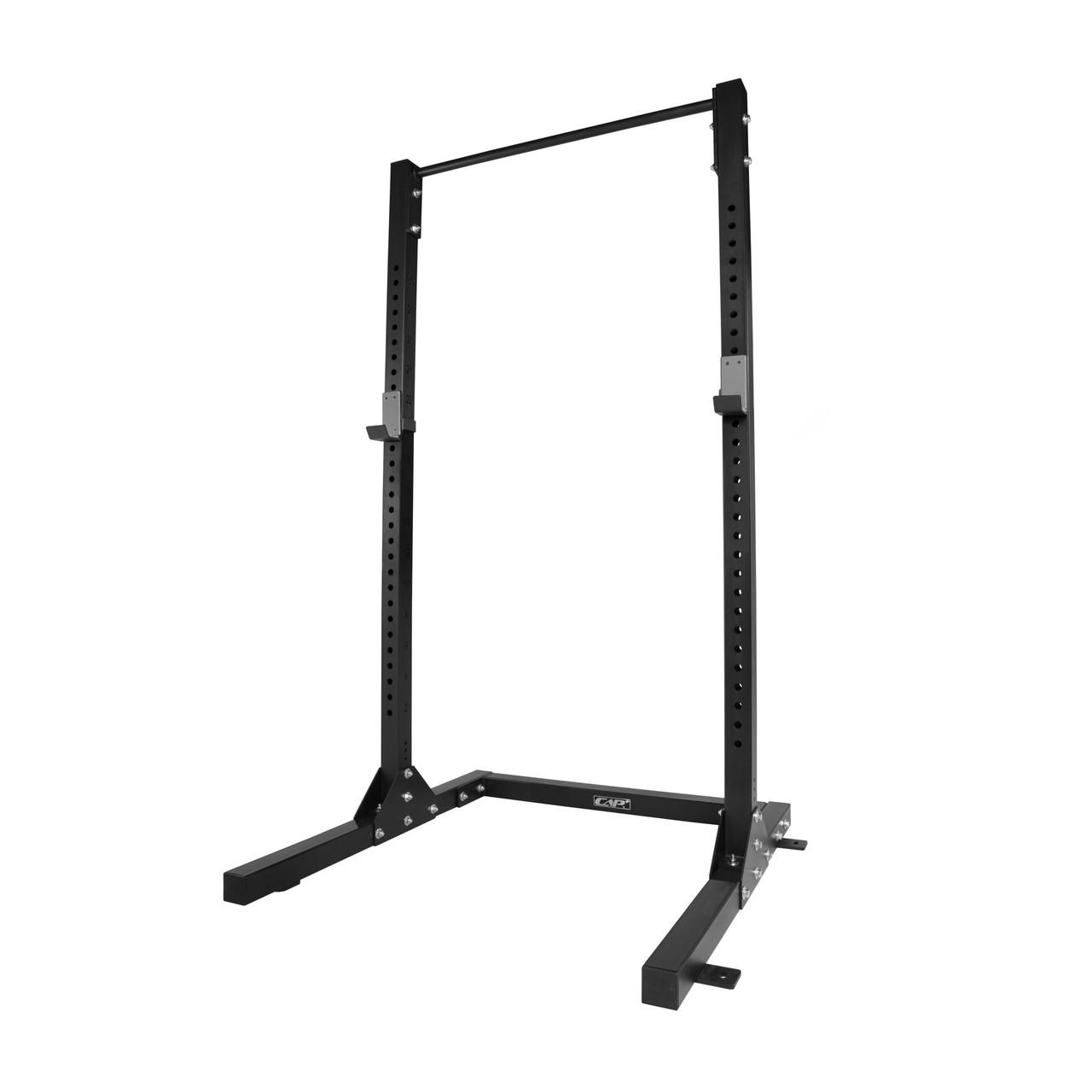 cap plus quarter cage squat rack
