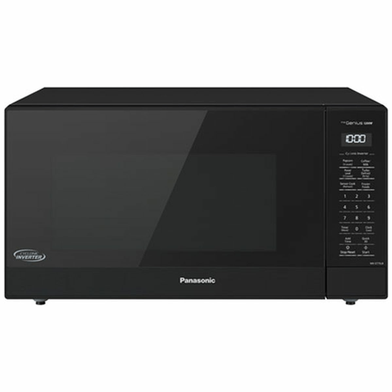 nnst75lbqpq 44l cyclone inverter microwave oven black
