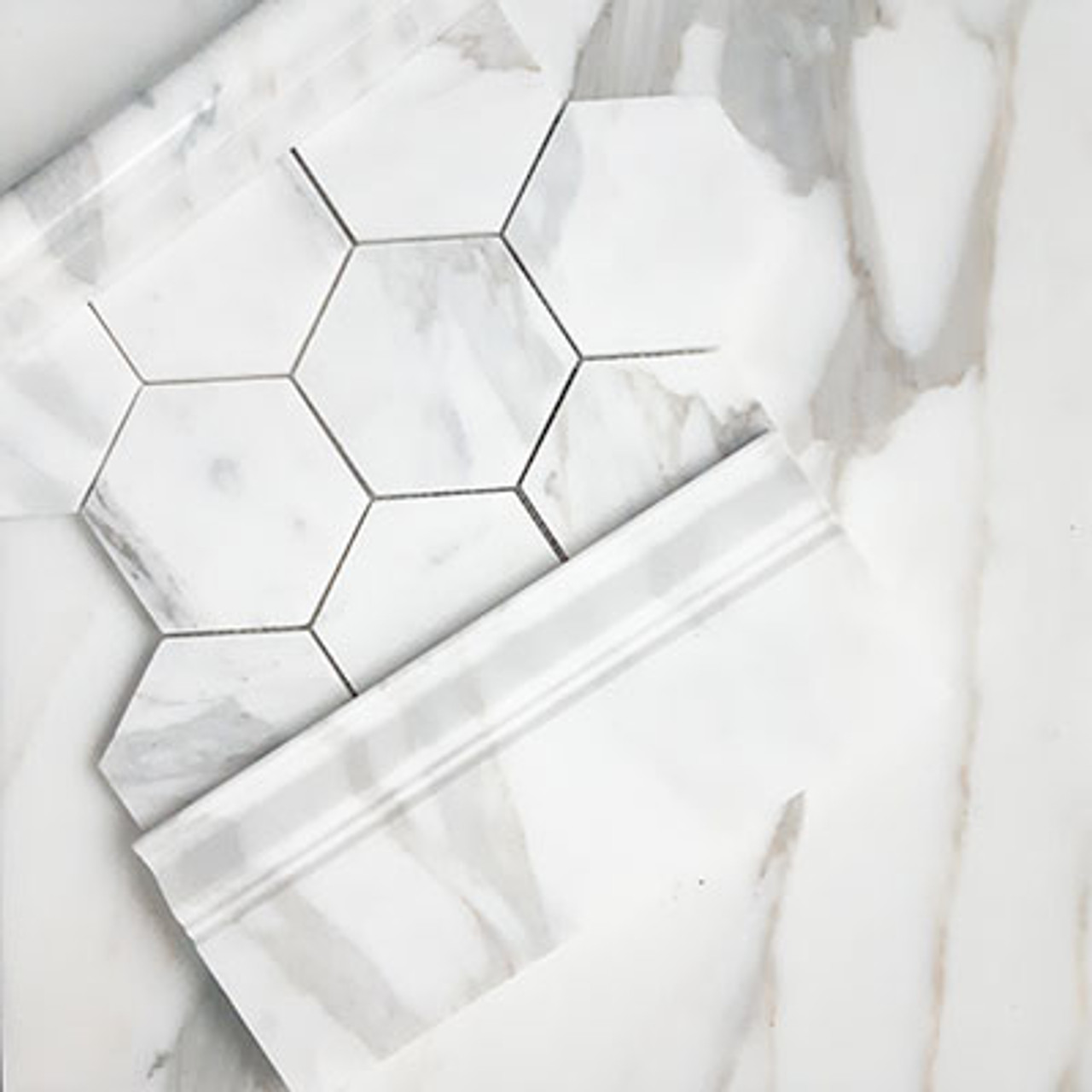 18x18 calacatta gold italian marble tile polished