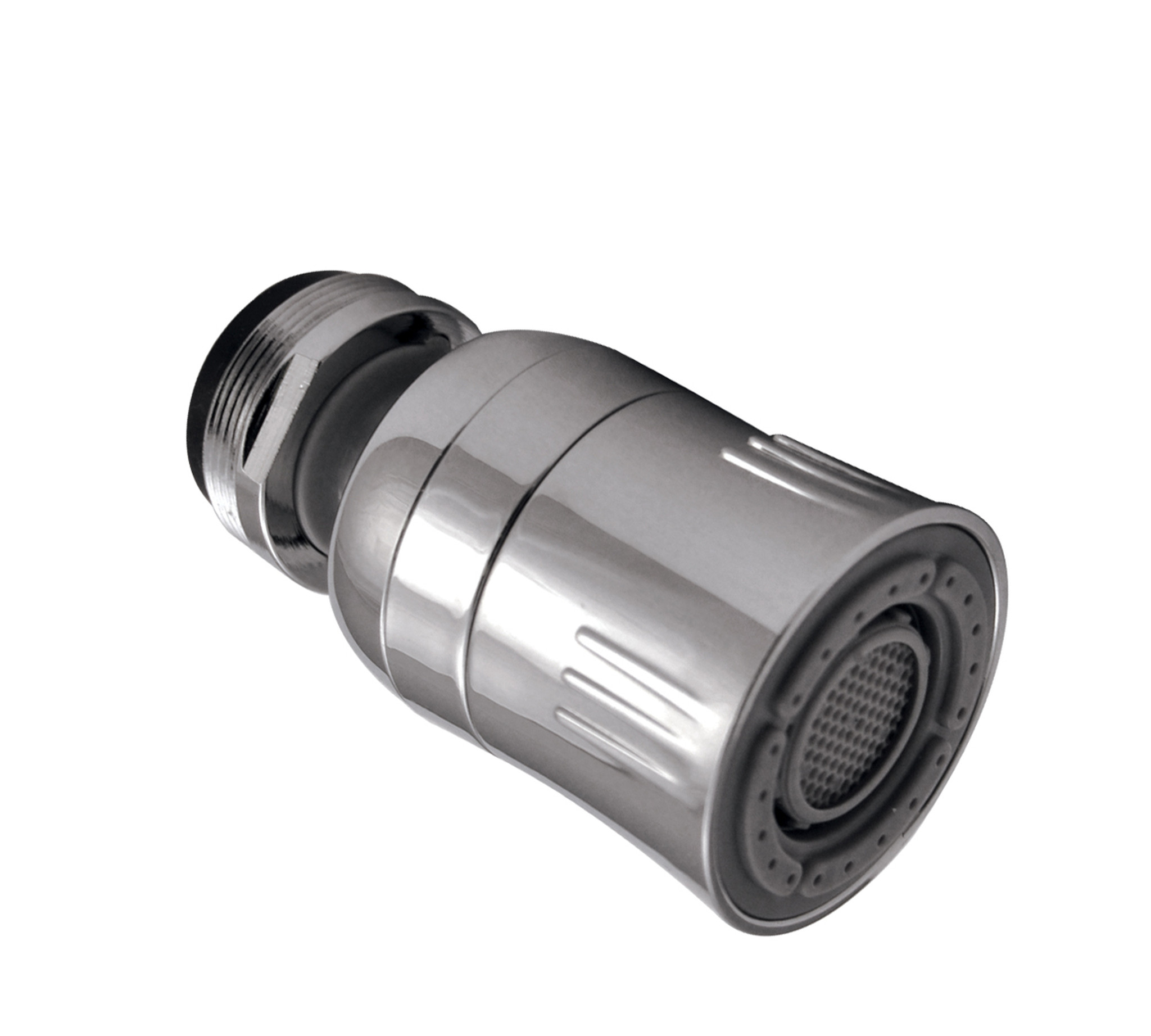 dual spray kitchen swivel faucet aerator 1 5 gpm chrome