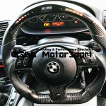 Bmw E46 M3 Smg Flat Bottom Carbon Lcd Race Display Steering Wheel Ssdd Motorsport Ltd