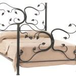 Fair Oak Iron Queen Bed