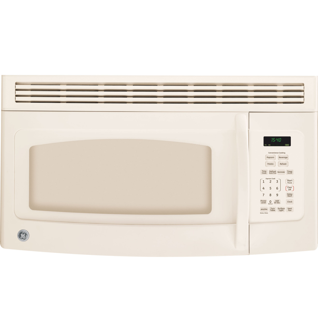 ge spacemaker over the range microwave oven jvm1540dmcc