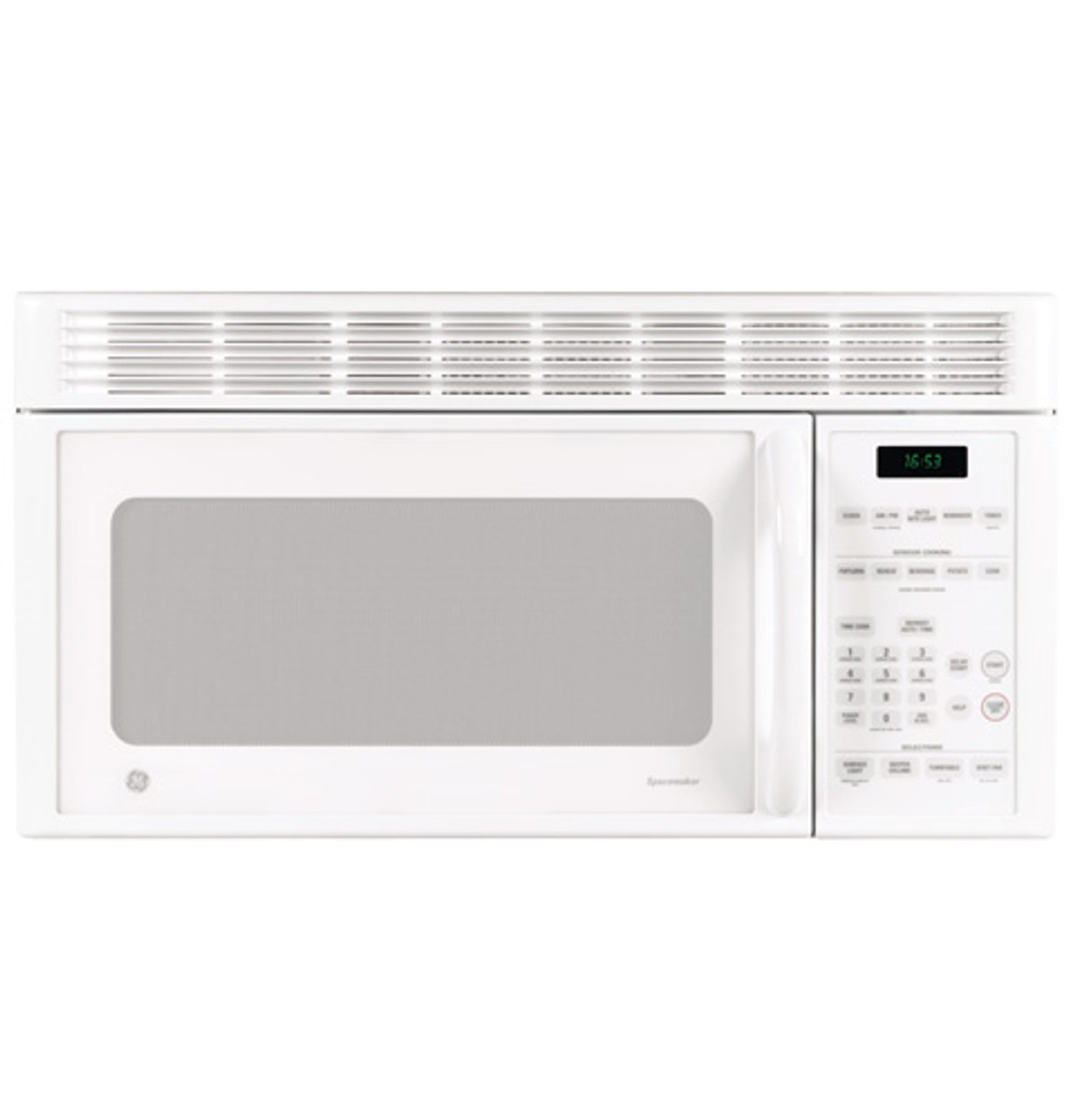 ge 1 6 cu ft over the range microwave oven jvm1653wh
