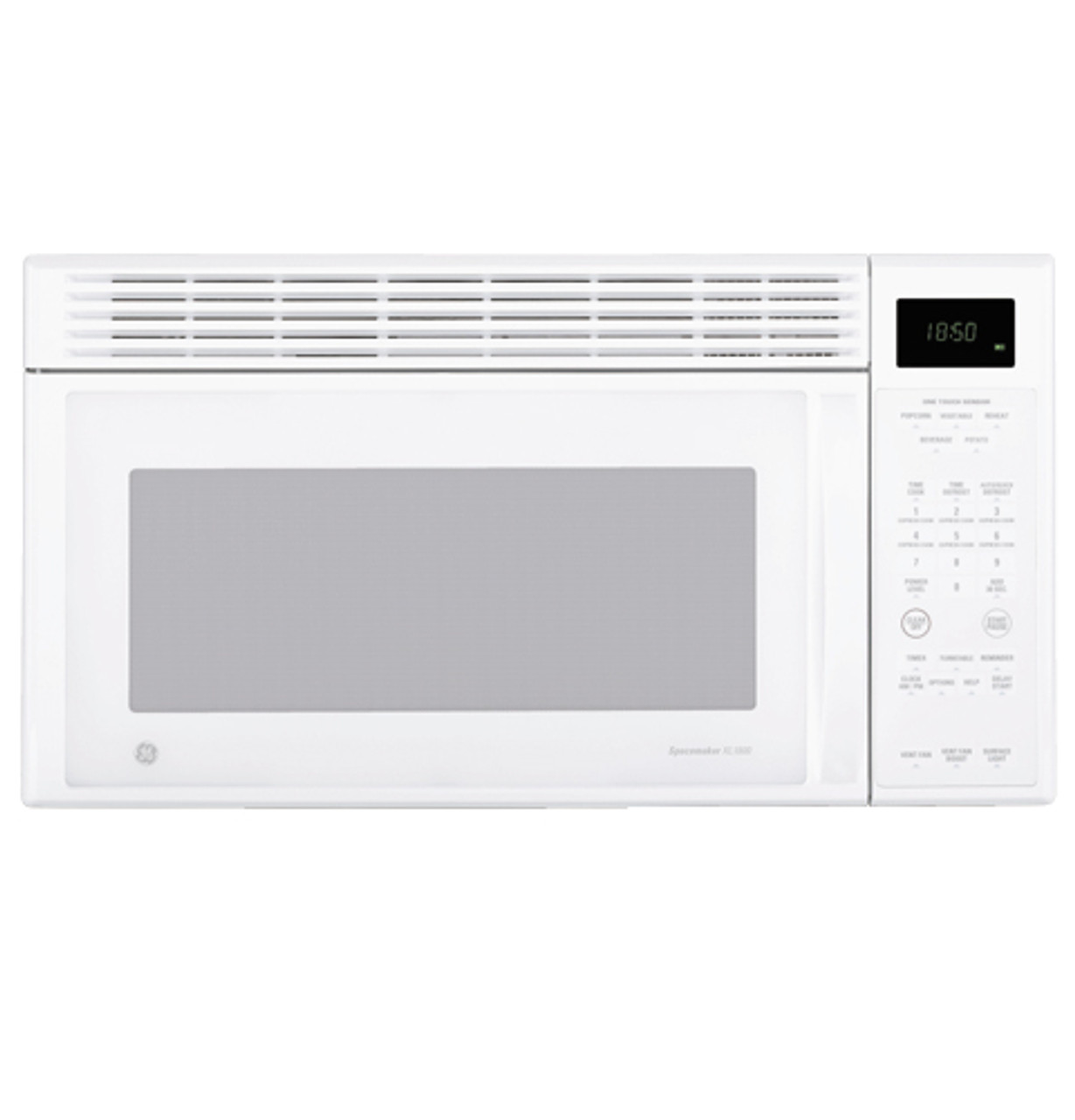 ge spacemaker xl1800 microwave oven with recirculating venting jvm1851wd