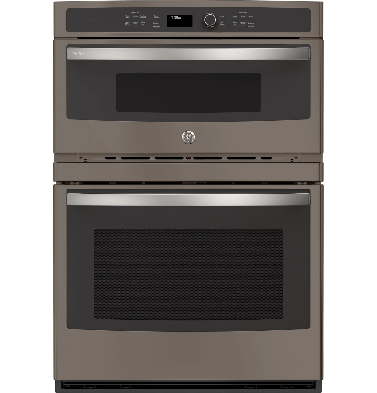 ge profile 30 built in combination convection microwave convection wall oven pt7800ekes