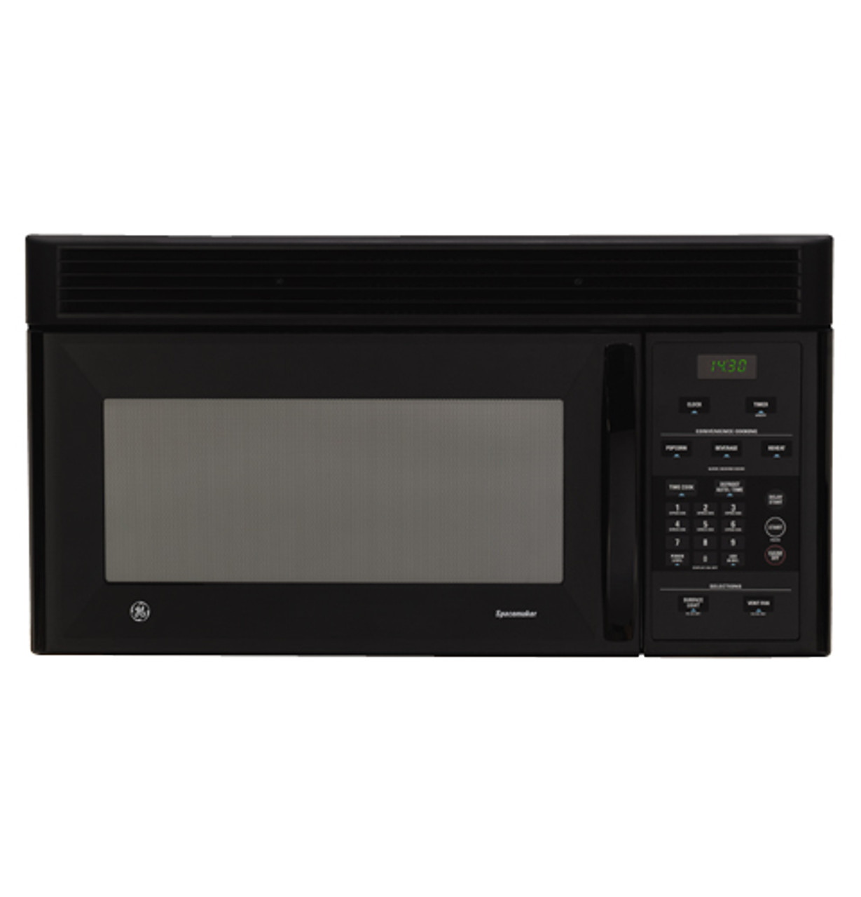 ge spacemaker over the range microwave oven jvm1430bd