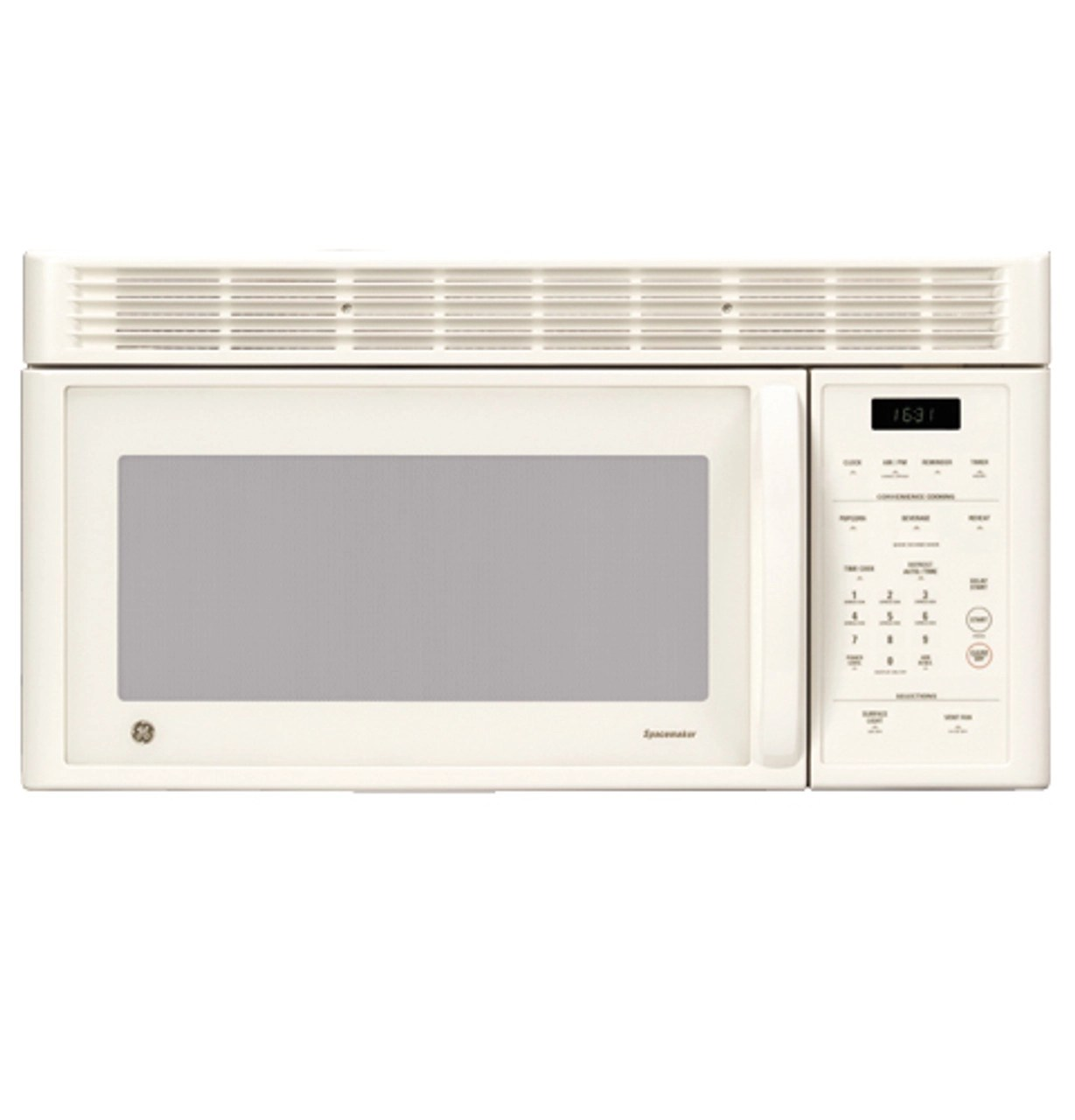 ge spacemaker over the range microwave oven with recirculating vent jvm1631ck