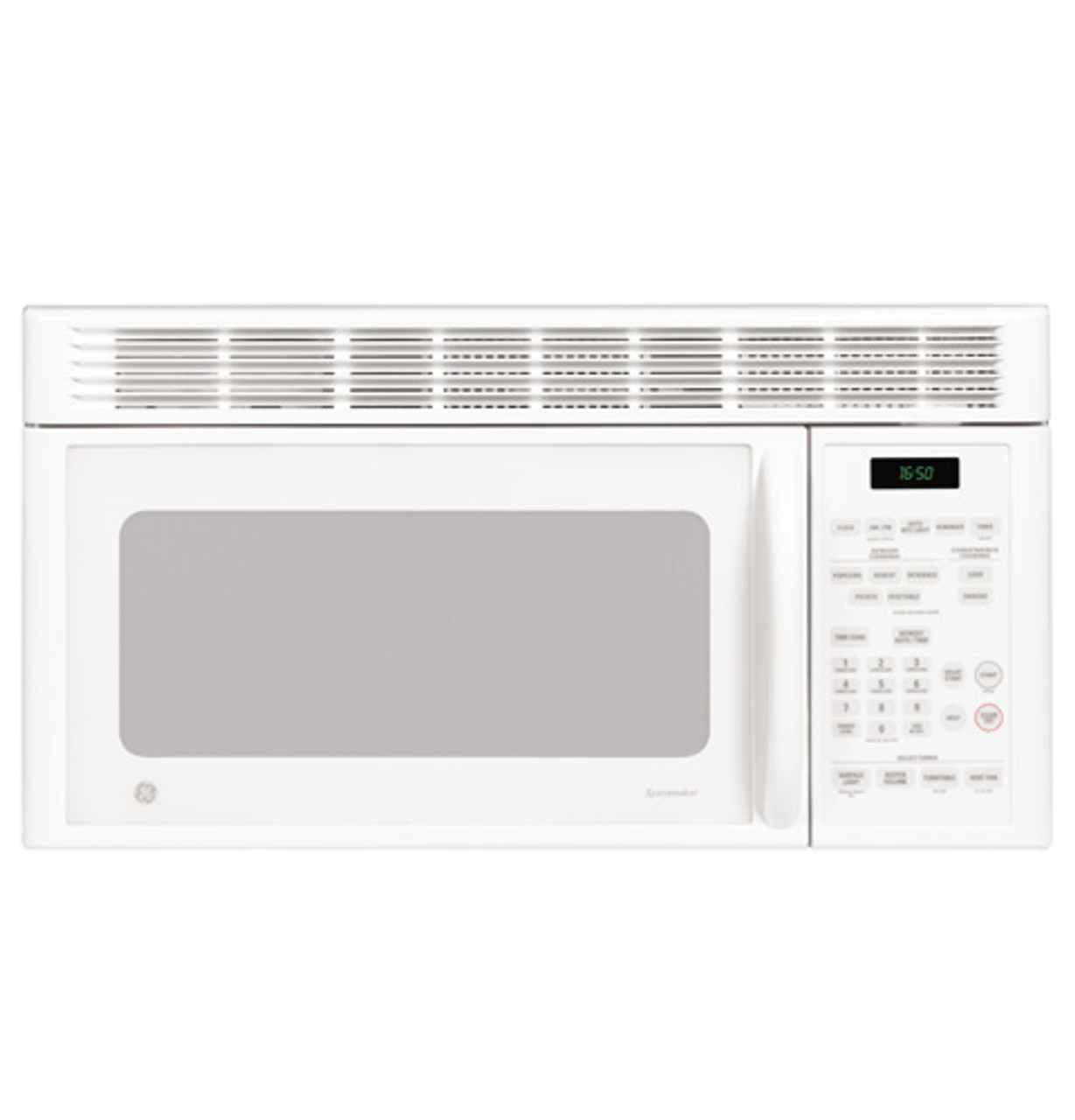 ge spacemaker microwave oven jvm1650wh
