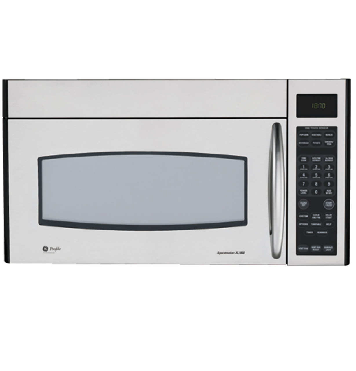 ge profile spacemaker xl1800 microwave oven jvm1870sf