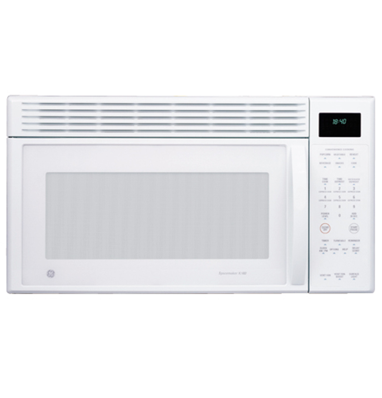 ge spacemaker xl1800 microwave oven jvm1840wd