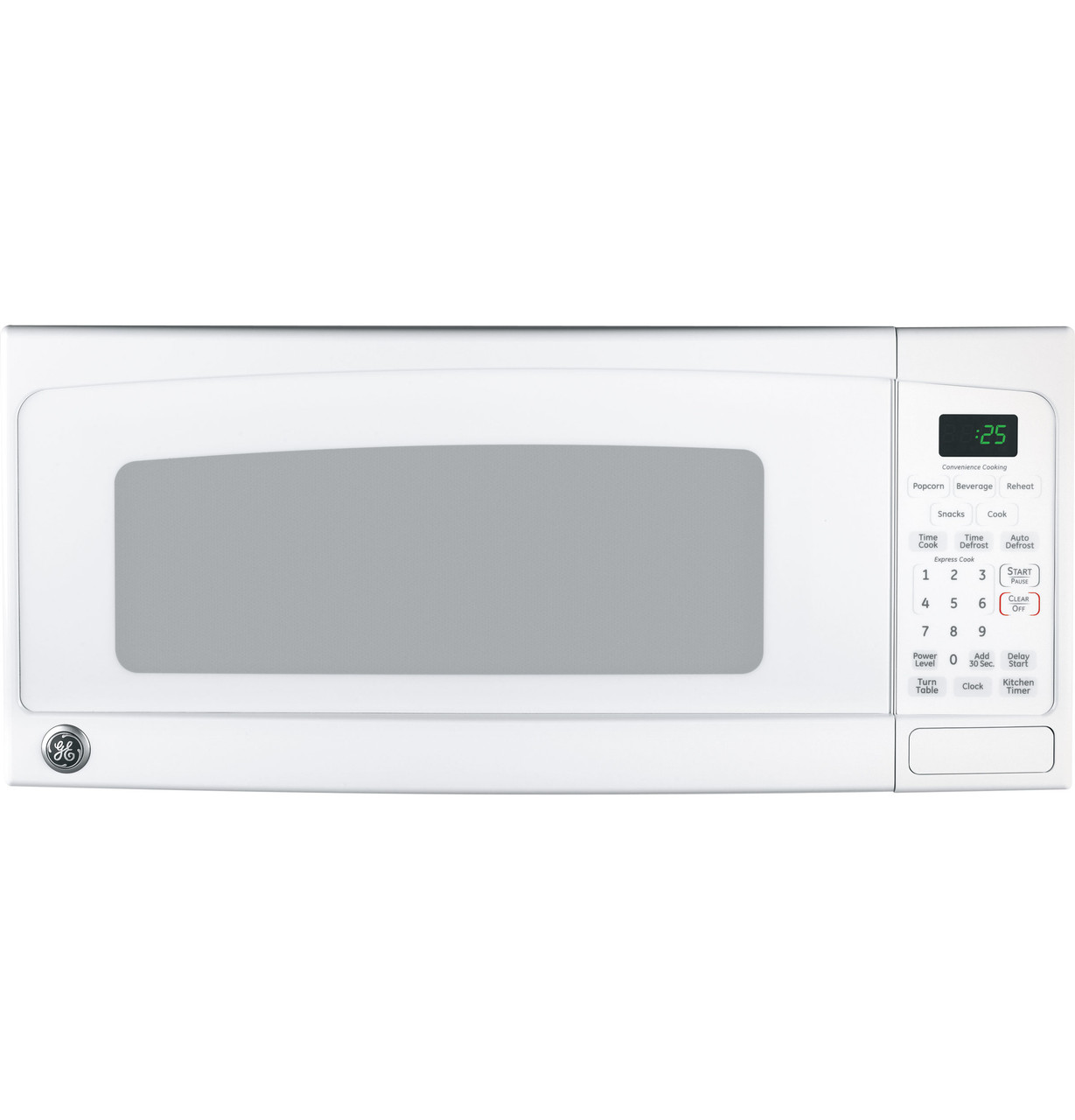 ge spacemaker ii 1 0 cu ft microwave oven jem25dmww