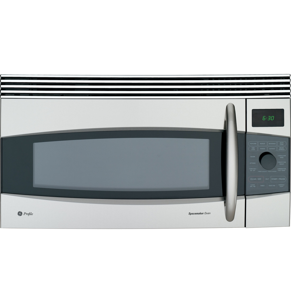 ge profile 1 7 cu ft convection over the range microwave oven jvm1790sk