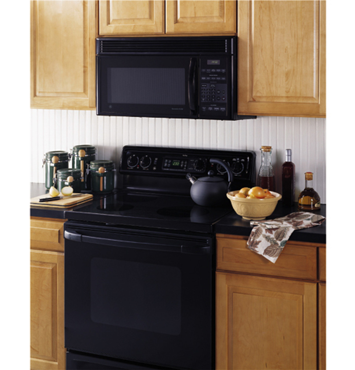 ge spacemaker xl over the range microwave oven jvm1450wc