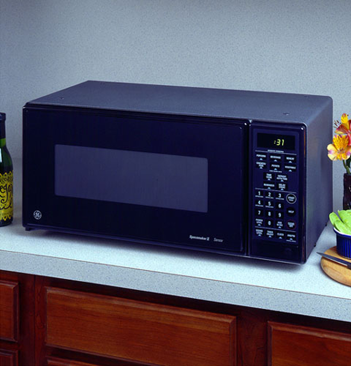ge spacemaker ii microwave oven jem31gy