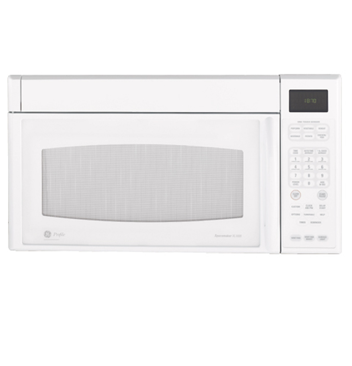 ge profile spacemaker xl1800 microwave oven jvm1870wf