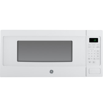 ge profile 1 1 cu ft countertop microwave oven pem31dfww