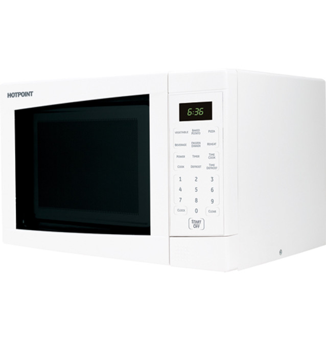 hotpoint countertop turntable microwave oven jes636wk
