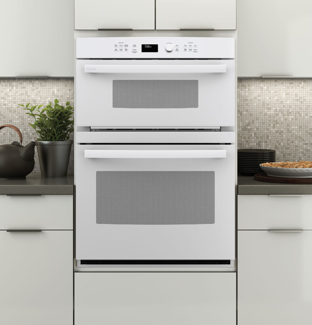 ge profile 30 built in combination convection microwave convection wall oven pt7800dhww