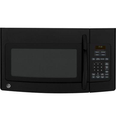 ge spacemaker 1 7 cu ft over the range microwave oven jvm1730dpbb
