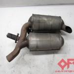 2000 Bmw 540i E39 Exhaust Muffler 1432972 Quality Factory Autoparts