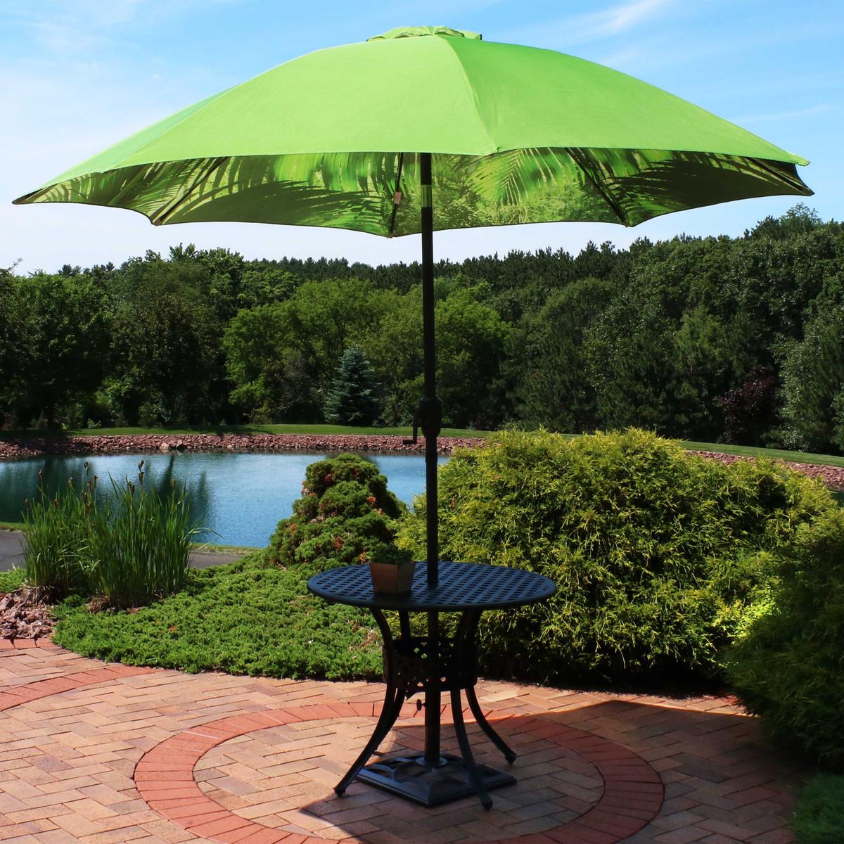 8 foot aluminum patio umbrella