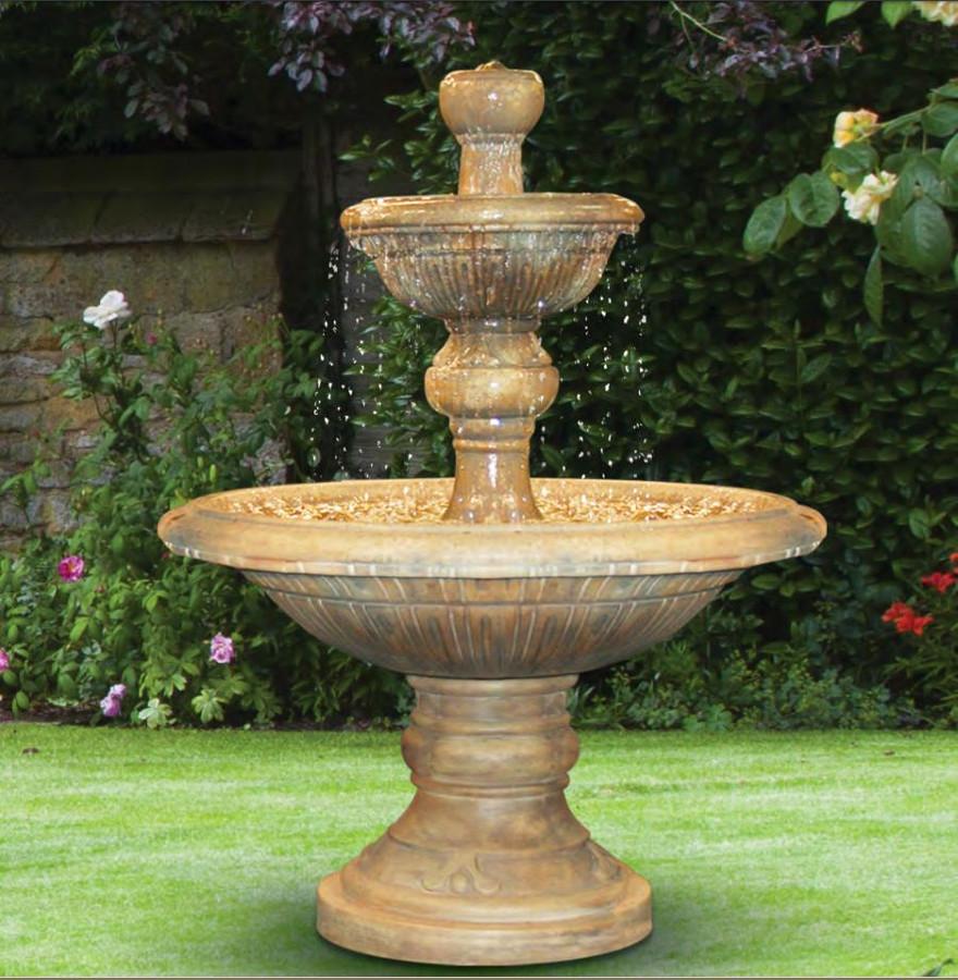 henri studio two tier traviata water 64 h on 2 Tier Water Fountain id=49604